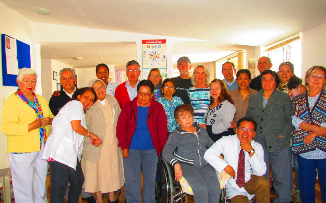 Alzheimer's demos in Quito, Ecuador